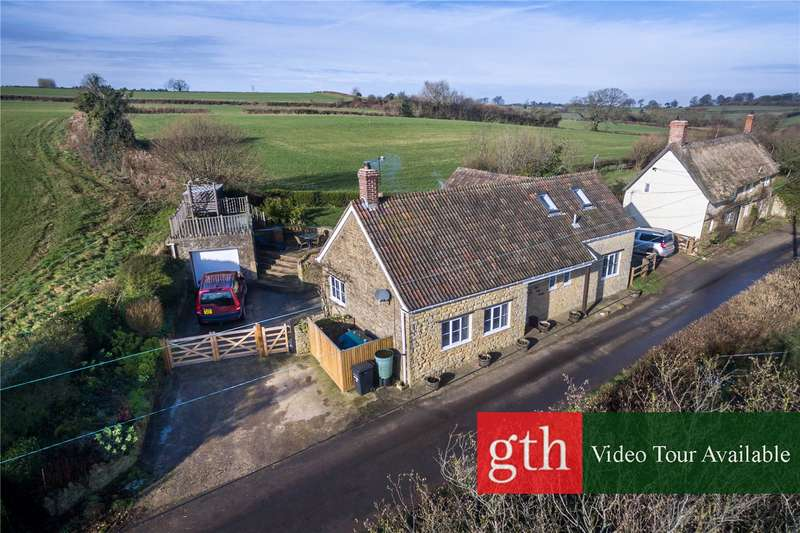 3 Bedrooms Detached House for sale in Allowenshay, Hinton St. George, Somerset, TA17