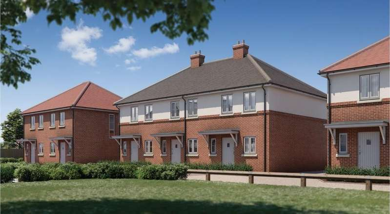 2 Bedrooms Semi Detached House for sale in John Castle Way, Colchester