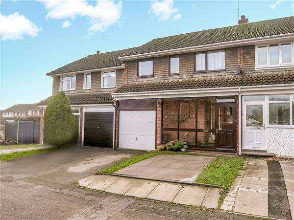 3 Bedrooms Terraced House for sale in Breeden Drive, Curdworth