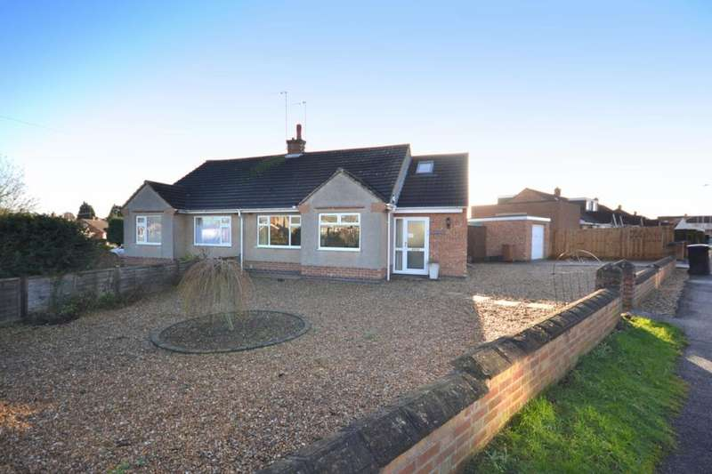 3 Bedrooms Semi Detached Bungalow for sale in Bretton Close, Duston, Northampton, NN5
