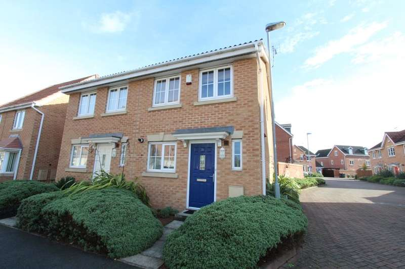 2 Bedrooms Semi Detached House for sale in Mountbatten Way, Chilwell,Beeston, Nottingham, NG9