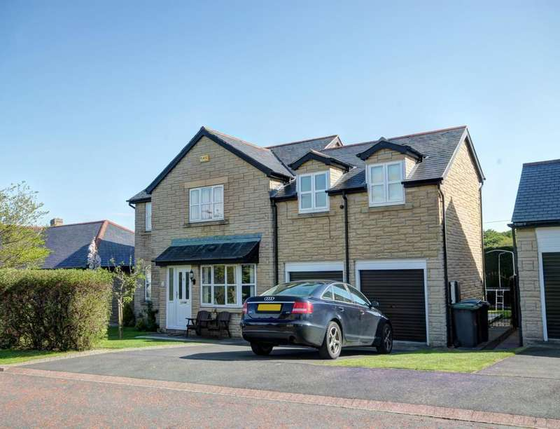 5 Bedrooms Detached House for sale in Highsteads, Medomsley, Consett, DH8