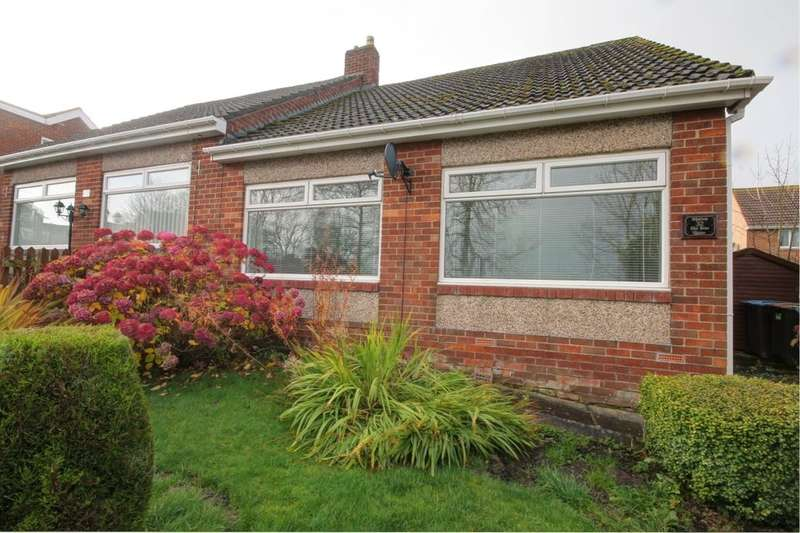 2 Bedrooms Semi Detached Bungalow for sale in The Rise, Castleside, Consett, DH8