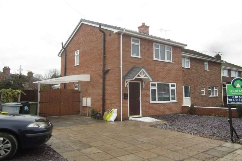 2 Bedrooms Detached House for sale in Singleton Avenue, Crewe, CW1