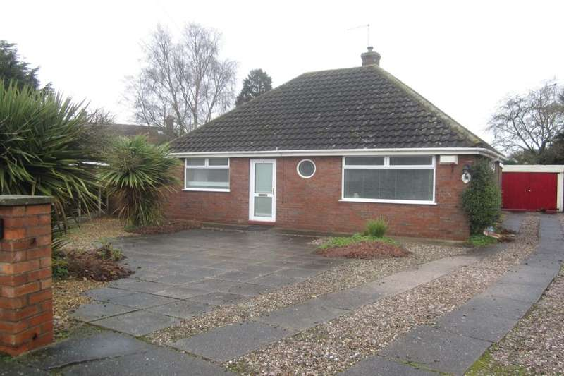2 Bedrooms Detached Bungalow for sale in Ashlea Drive, Willaston, Nantwich, CW5