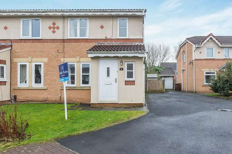 3 Bedrooms Semi Detached House for sale in Devonport Close, Walton-Le-Dale, Preston, PR5