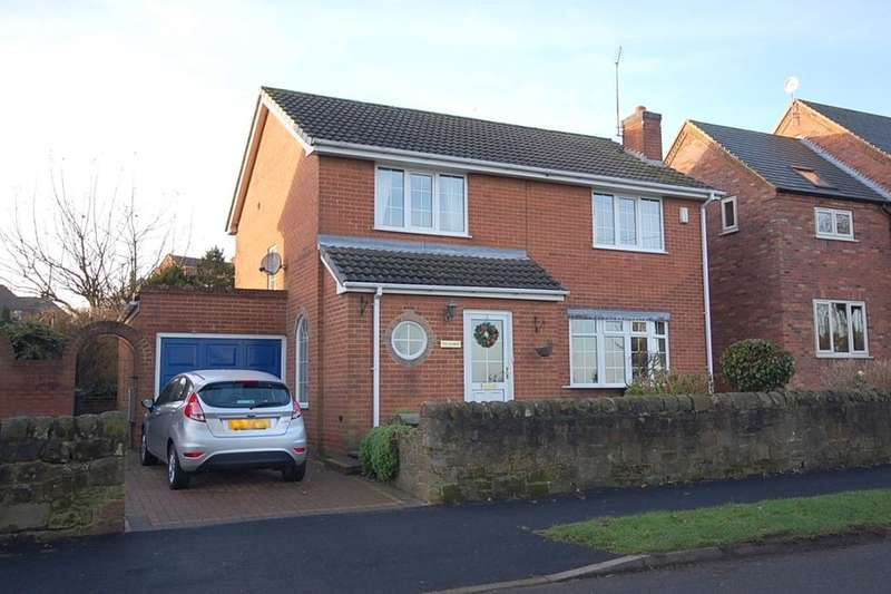 3 Bedrooms Detached House for sale in Moorside Lane, Holbrook, Belper, DE56