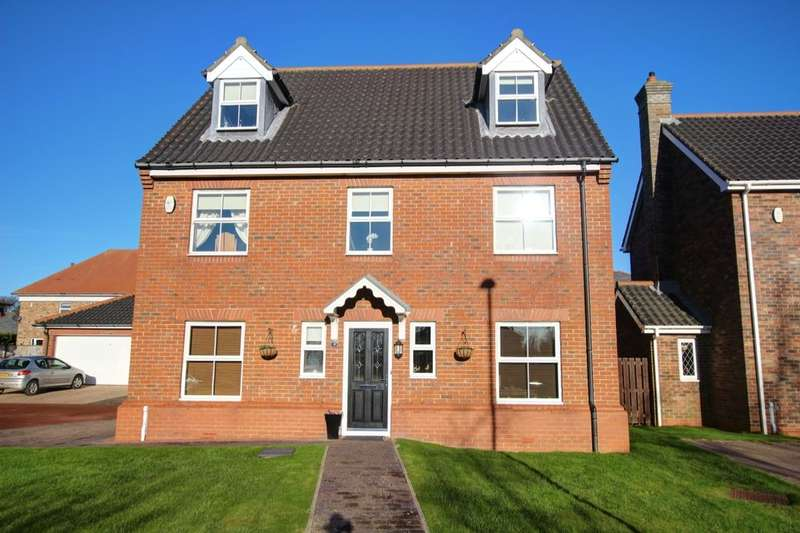 6 Bedrooms Detached House for sale in Rowland Crescent, Castle Eden, Hartlepool, TS27