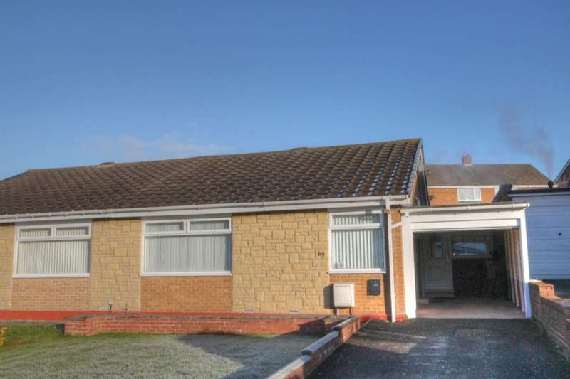 2 Bedrooms Semi Detached Bungalow for sale in Beckside Gardens, Chapel House, Newcastle Upon Tyne, NE5