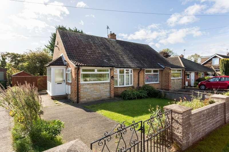 2 Bedrooms Semi Detached Bungalow for sale in Howard Drive, Rawcliffe, York, YO30