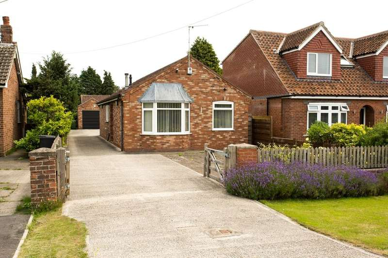 3 Bedrooms Detached Bungalow for sale in Sutton Road, Wigginton, York, YO32