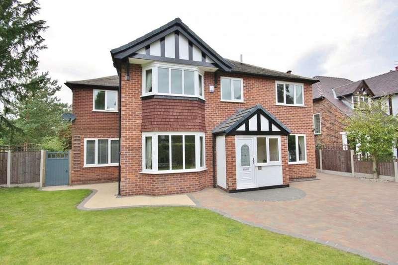 5 Bedrooms Detached House for sale in Grangeway, Handforth
