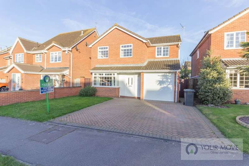 4 Bedrooms Detached House for sale in Wharfedale, Carlton Colville, Lowestoft, NR33