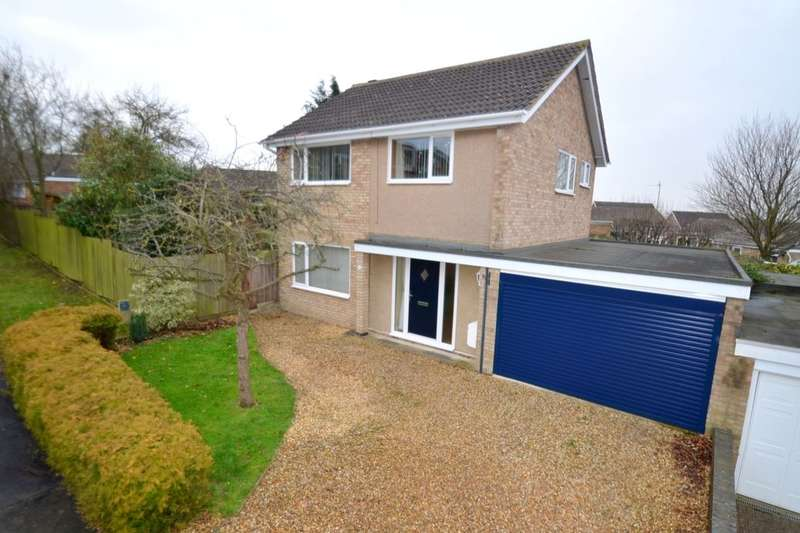 3 Bedrooms Detached House for sale in St. Cecilias Close, Kettering, NN15