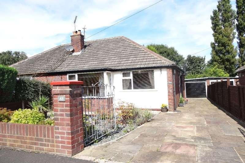 2 Bedrooms Semi Detached Bungalow for sale in Brookside Road, Fulwood, Preston, PR2