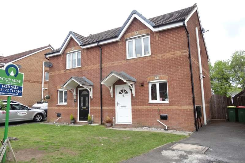 2 Bedrooms Semi Detached House for sale in Broughton Tower Way, Fulwood, Preston, PR2