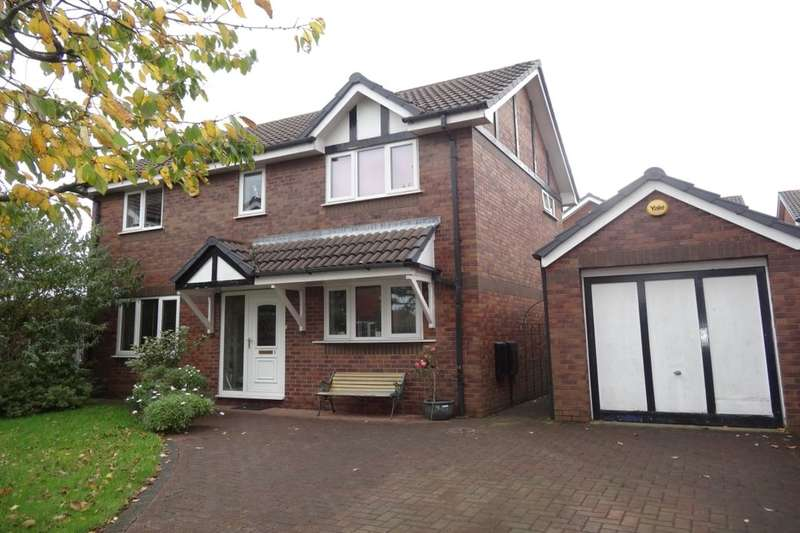 4 Bedrooms Detached House for sale in Easton Close, Fulwood, Preston, PR2