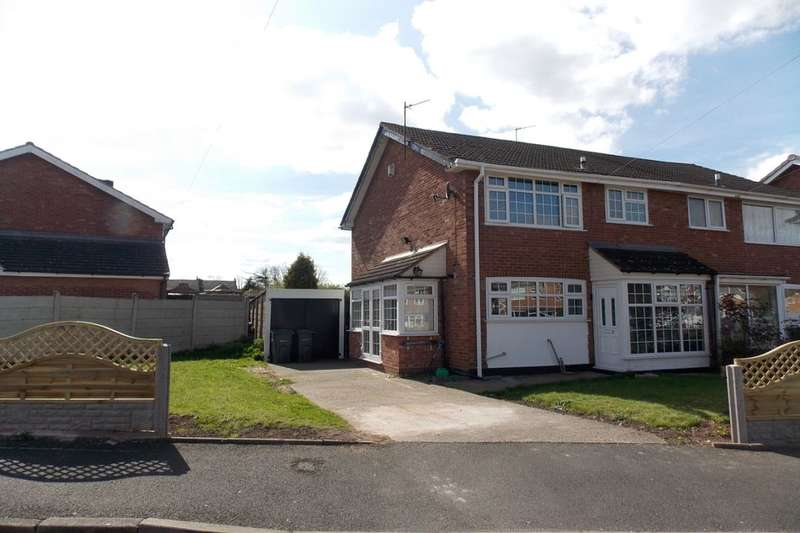3 Bedrooms Semi Detached House for sale in Mears Drive, Stechford, Birmingham, B33