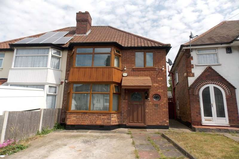 3 Bedrooms Semi Detached House for sale in Flaxley Road, Stechford, Birmingham, B33