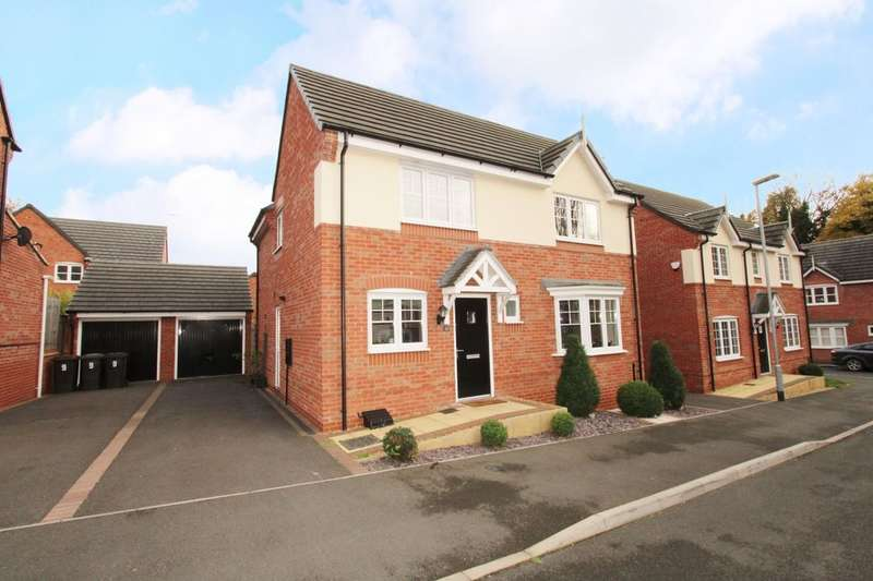 4 Bedrooms Detached House for sale in Atkinson Gardens, Nuthall, Nottingham, NG16