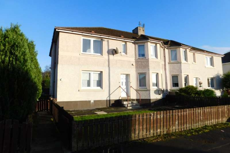 2 Bedrooms Flat for sale in Meadowhead Road, Wishaw, ML2