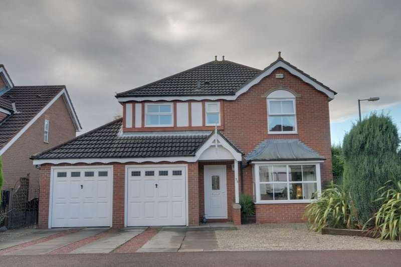4 Bedrooms Detached House for rent in Thirlington Close, Newcastle Upon Tyne, NE5