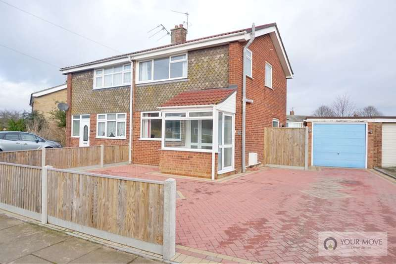 3 Bedrooms Semi Detached House for sale in Edinburgh Avenue, Gorleston, Great Yarmouth, NR31