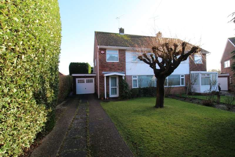 3 Bedrooms Semi Detached House for sale in Hillmead Gardens, Havant, PO9
