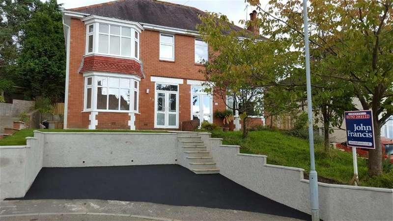3 Bedrooms Semi Detached House for sale in Llwyn Arosfa, Sketty