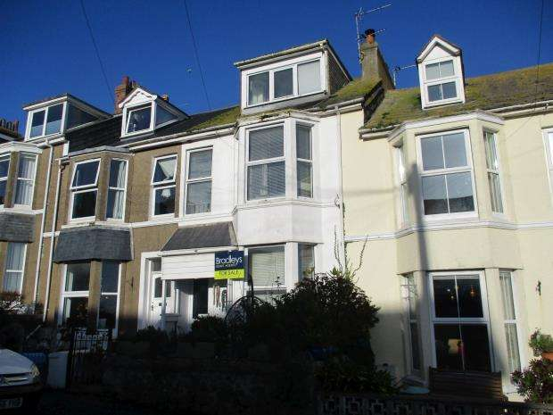 4 Bedrooms Terraced House for sale in Ayr Terrace, St. Ives, Cornwall