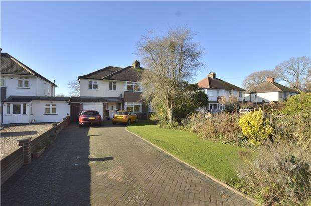 4 Bedrooms Semi Detached House for sale in Salfords, RH1