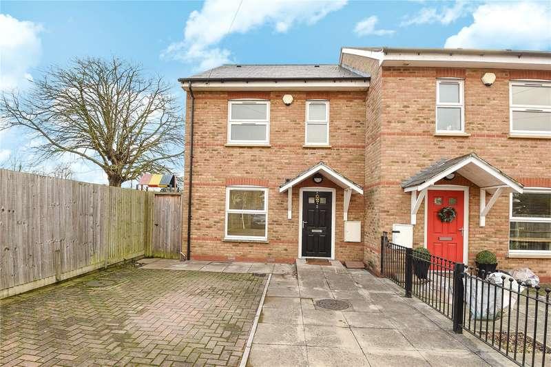 3 Bedrooms Mews House for sale in Rosedene Mews, Uxbridge, Middlesex, UB8
