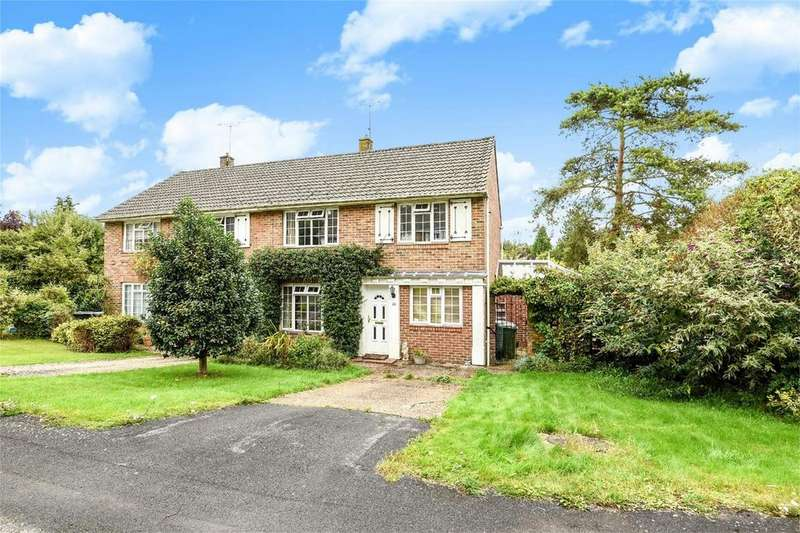 4 Bedrooms Semi Detached House for sale in St Cross, Winchester, Hampshire