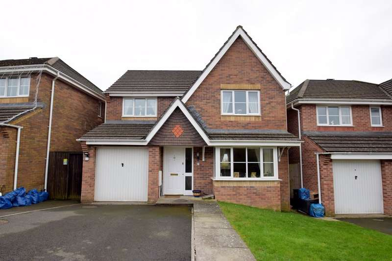 4 Bedrooms Detached House for sale in 7 Ffordd Y Groes, Broadlands, Bridgend, Bridgend County Borough, CF31 5EQ.