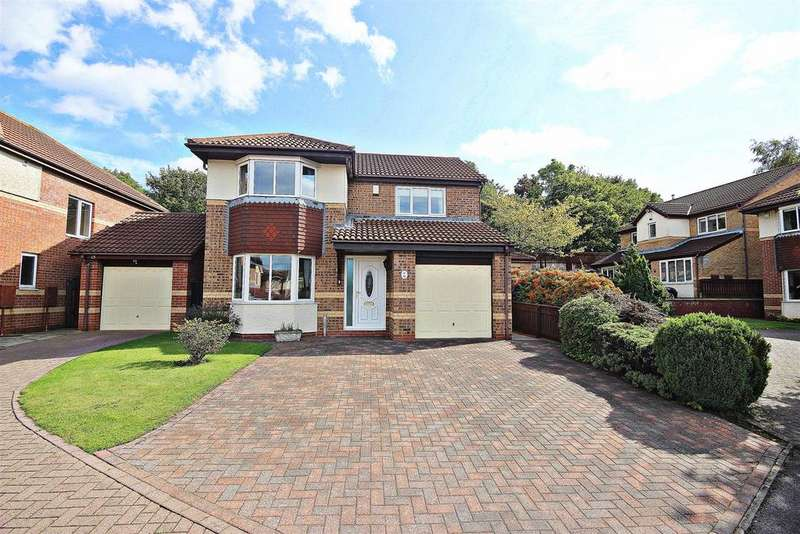 4 Bedrooms Detached House for sale in Cartmel Court, Chester Le Street