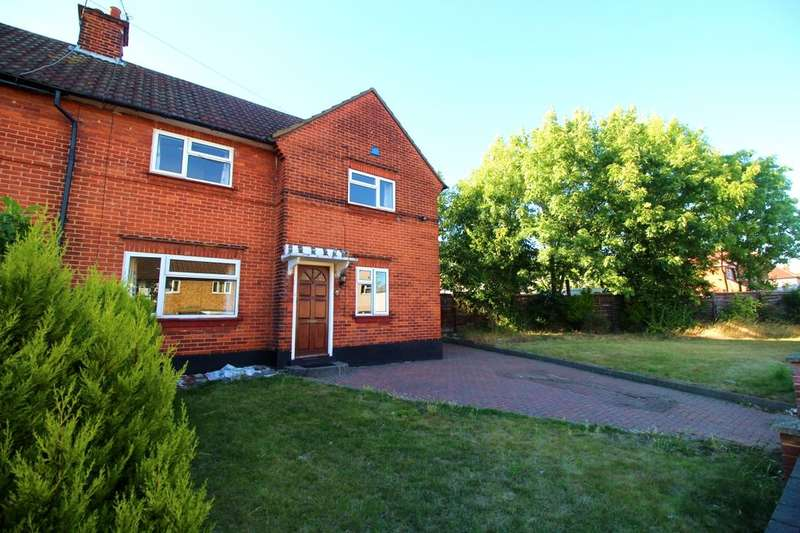 3 Bedrooms Semi Detached House for rent in Middle Way, Watford, WD24