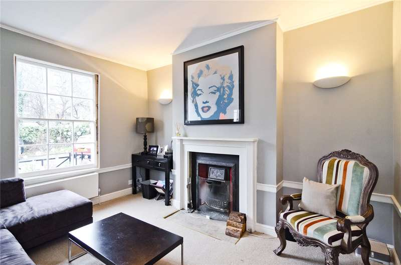 3 Bedrooms Terraced House for sale in Nelson Terrace, London, N1