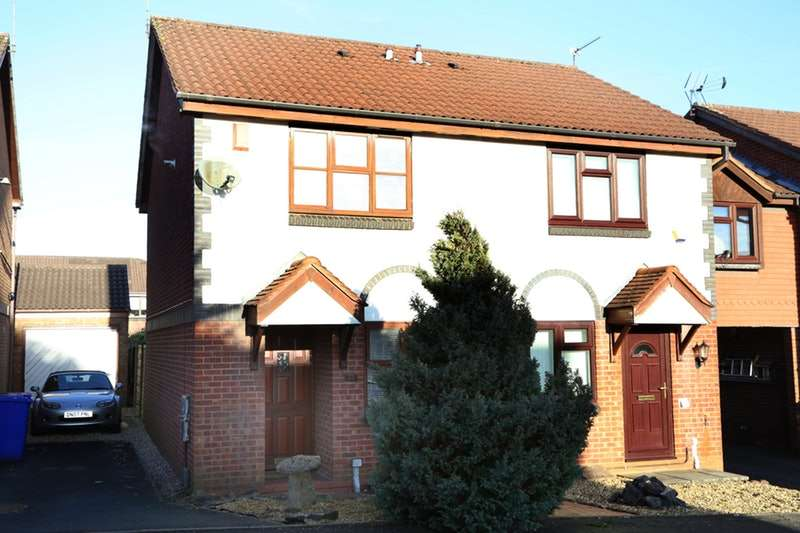 2 Bedrooms Semi Detached House for sale in Swallow Close, Meir Park, Stoke-on-Trent, Staffordshire, ST3