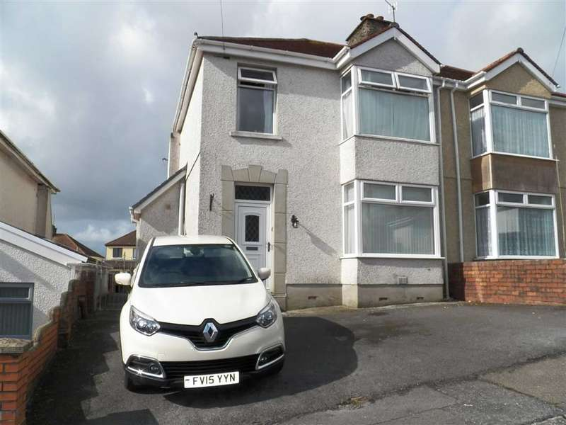 3 Bedrooms Semi Detached House for sale in Highmead Avenue, Llanelli