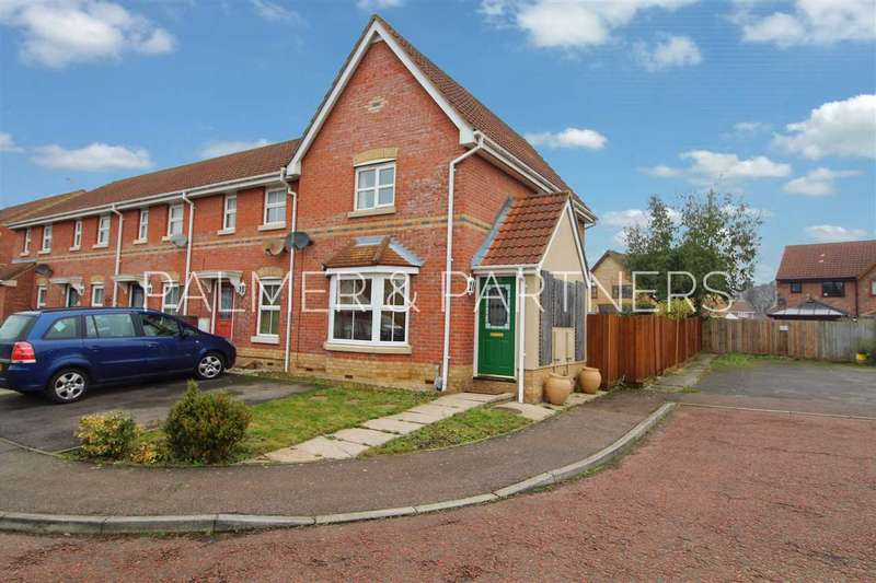 3 Bedrooms End Of Terrace House for sale in Chinook, Highwoods, Colchester