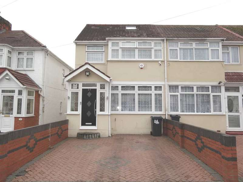 4 Bedrooms End Of Terrace House for sale in Wentworth Road, Southall