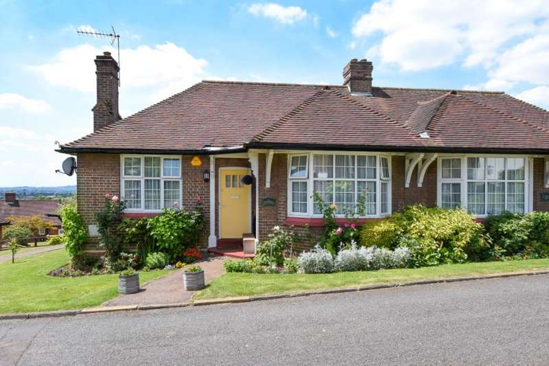 2 Bedrooms Semi Detached Bungalow for sale in Chalet Estate, Hammers Lane, Mill Hill