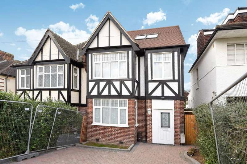 5 Bedrooms Semi Detached House for sale in Belmont Avenue, Barnet