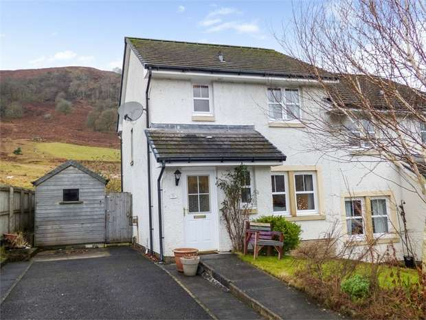 3 Bedrooms Semi Detached House for sale in Fingal Road, Killin, Stirling