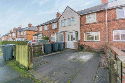 3 Bedrooms Terraced House for sale in Tavistock Road, Acocks Green, Birmingham, West Midlands