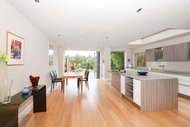 4 Bedrooms End Of Terrace House for sale in Glasslyn Road, Crouch End