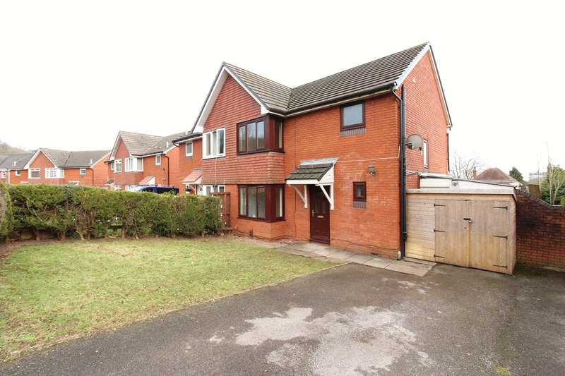 3 Bedrooms Semi Detached House for sale in Royal Oak Drive, Newport, NP18