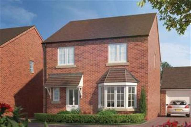 4 Bedrooms Detached House for sale in Orchard Place Pershore Road, Hampton, Evesham, WR11