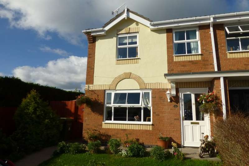 3 Bedrooms Semi Detached House for sale in Emes Close, Pershore, WR10