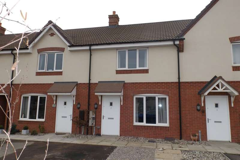 2 Bedrooms Terraced House for sale in Russett Close, Evesham, WR11